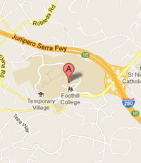 Foothill College Map